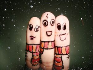 Harry Potter fingers