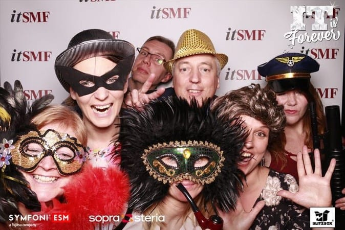 Andrea Kis, Sofi Falhberg and others at the itSMF UK Norway