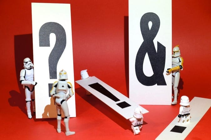 Stromtroopers asking questions