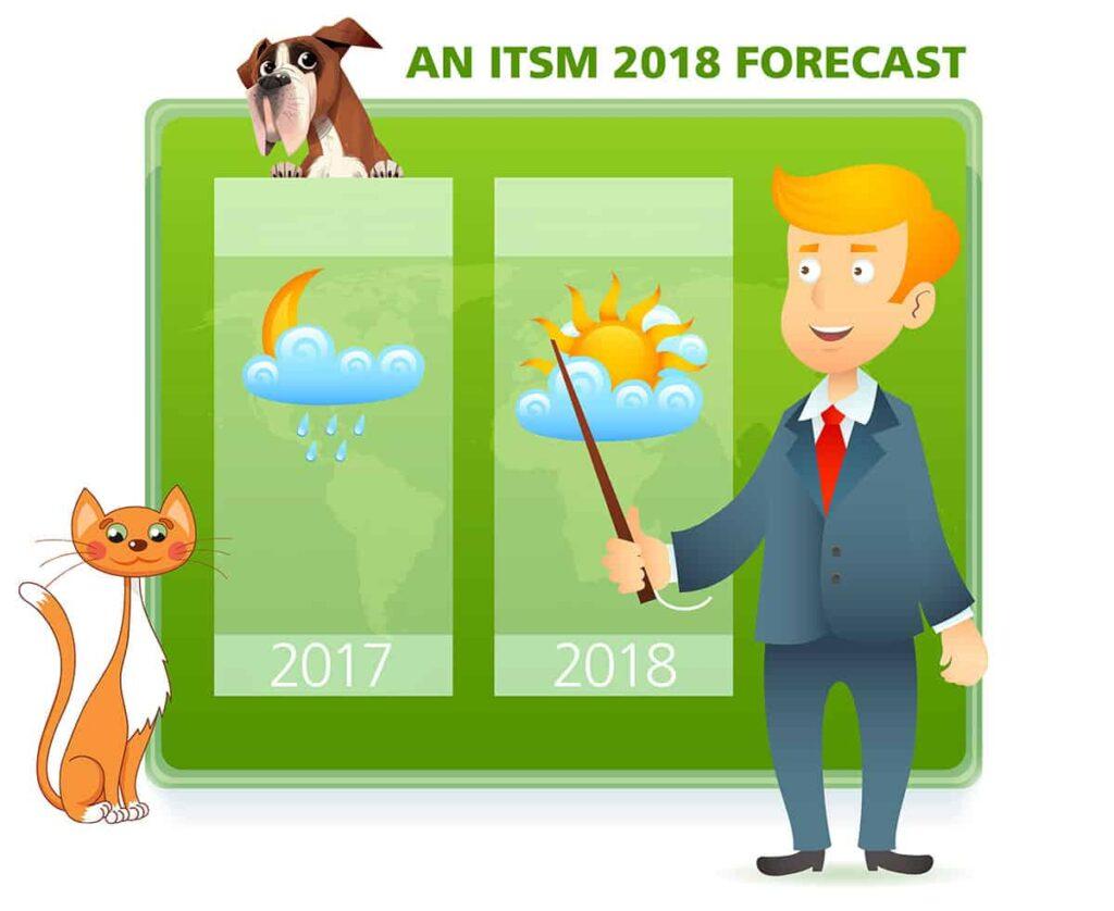 ITSM 2018 forecast cover