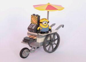 Minion on a cart