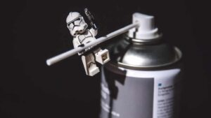 Stormtrooper on a can