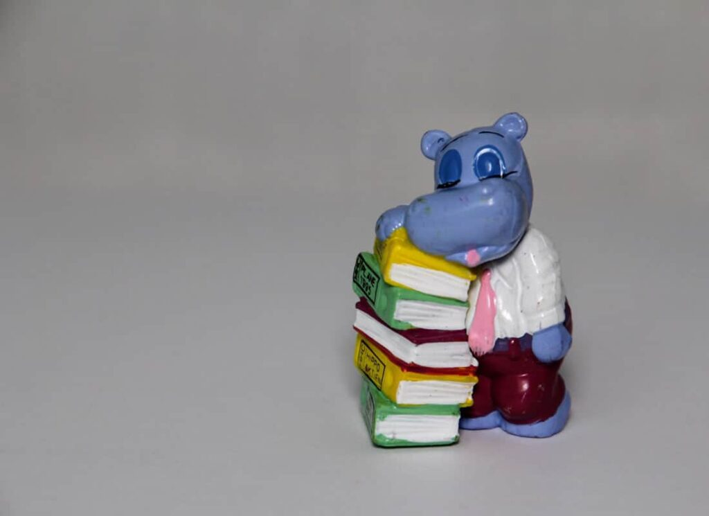 hippo reading up on design thinking