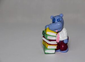 hippo reading up on design thinking