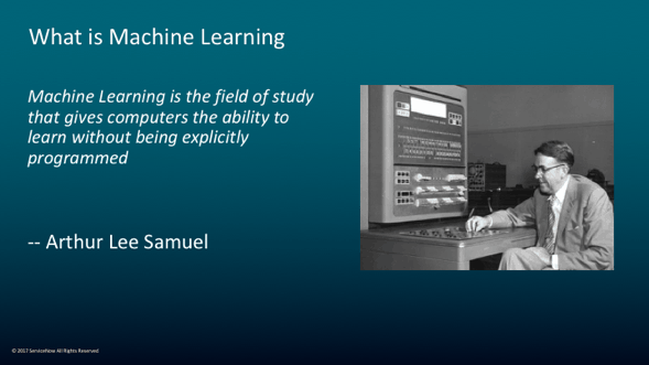 Explanation of machine learning