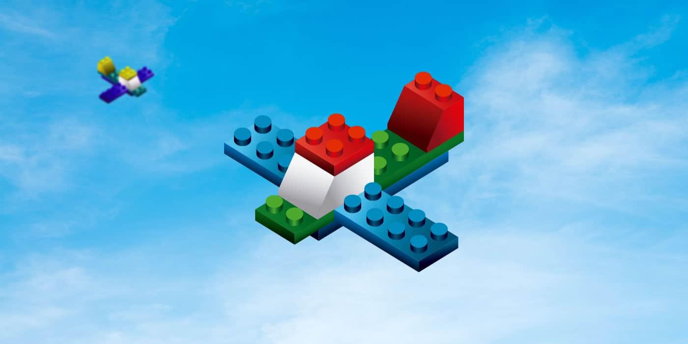 Lego planes