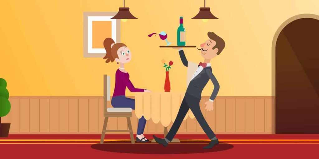 Bad restaurant service