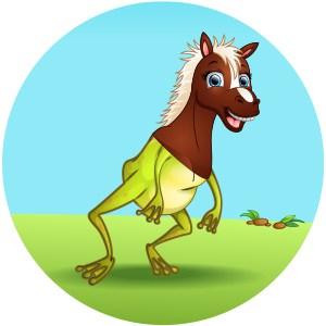 DevOps frog horse