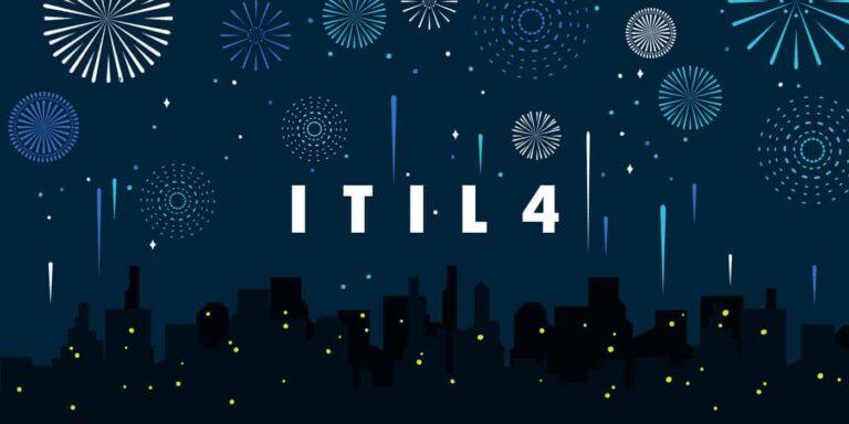 ITIL 4 fireworks