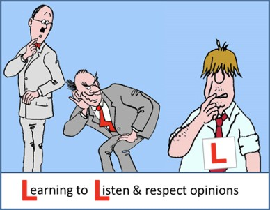 Learning to Listen and Respect Opinions