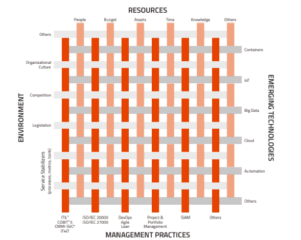 Figure 2. The Management Mesh of VeriSM