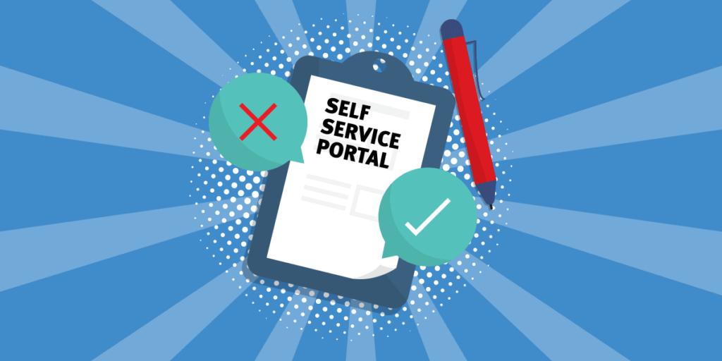 Self-service Portal Benefits